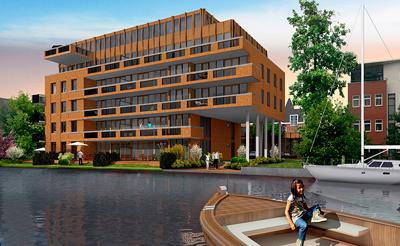 betonbouw luxe appartementen